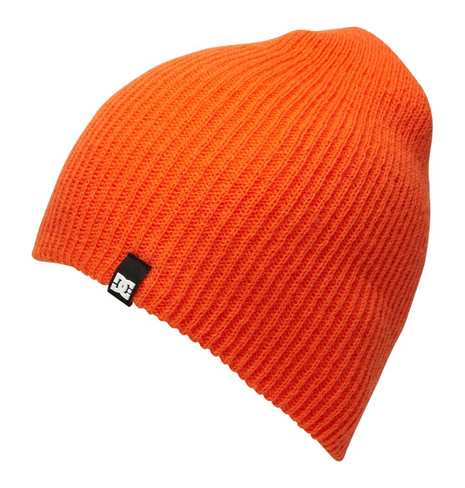 0 Men's Clap Beanie Orange 55310017 DC Shoes