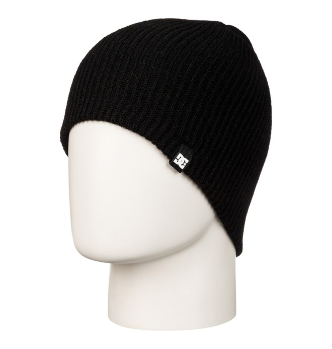 0 Men's Clap Beanie Black 55310017 DC Shoes