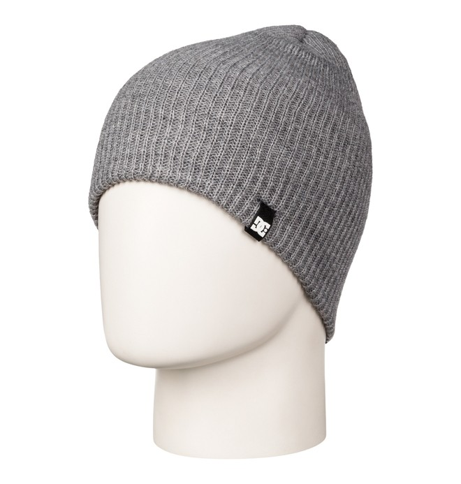 0 Men's Clap Beanie Grey 55310017 DC Shoes