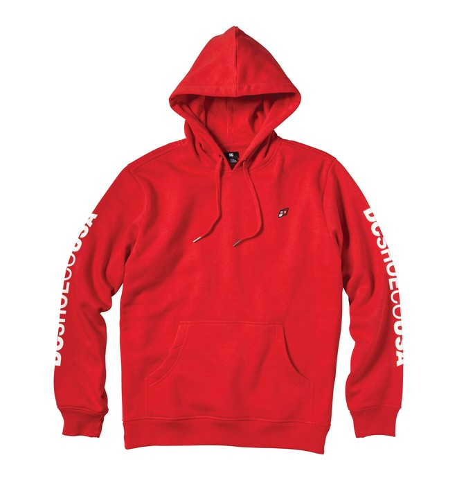 0 Men's Sleeveland Pullover Hoodie  55860098 DC Shoes