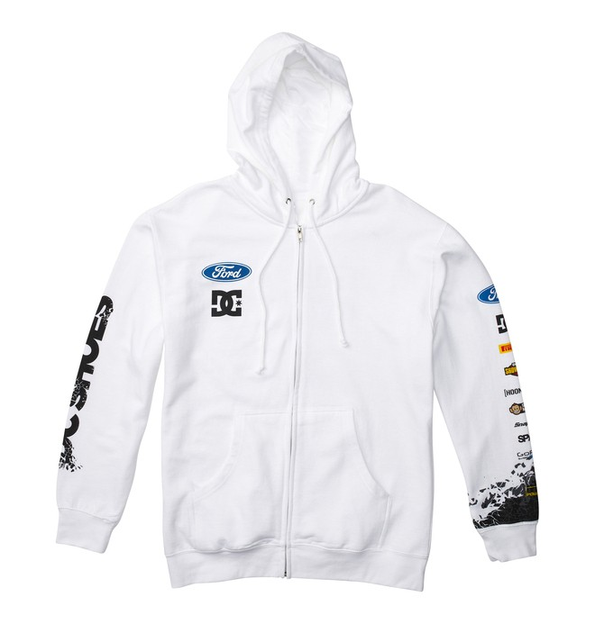 0 Men's Ken Block Cracked Up Zip Hoodie  56861290 DC Shoes