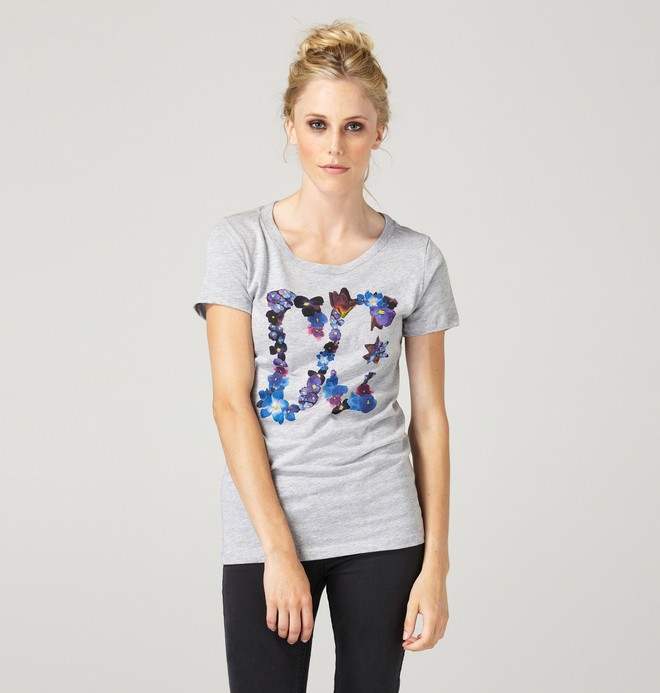 0 Women's Pedal Star Tee  61200223 DC Shoes