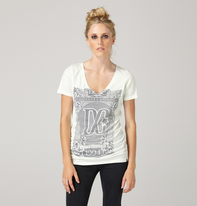 0 Women's Brasil Tee  61200226 DC Shoes