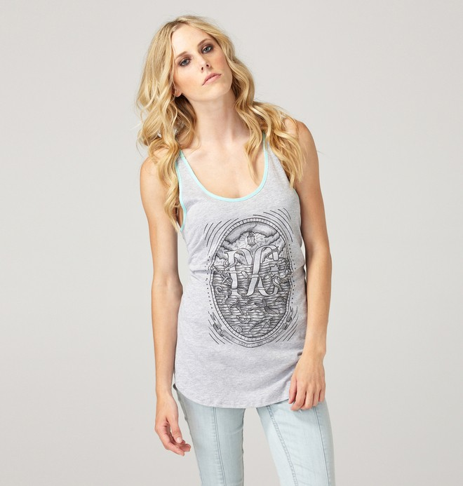 0 Women's Davey Jones Tank Top  61230093 DC Shoes