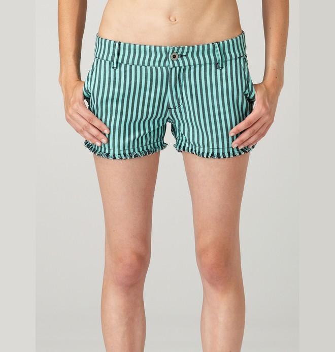 0 Women's Wilton Faded Shorts  61410100 DC Shoes
