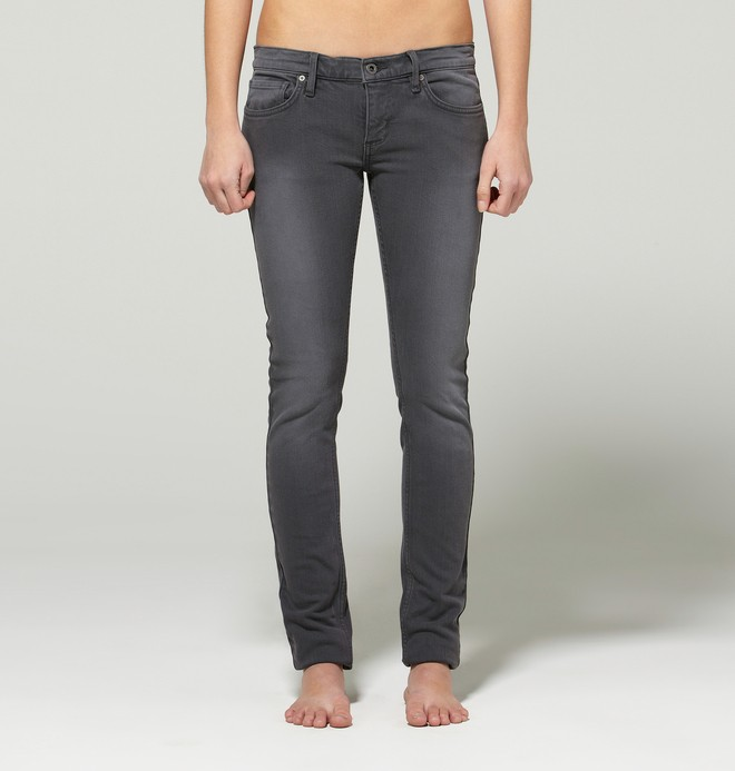 0 Women's Skinny Jeans Black 63400124 DC Shoes