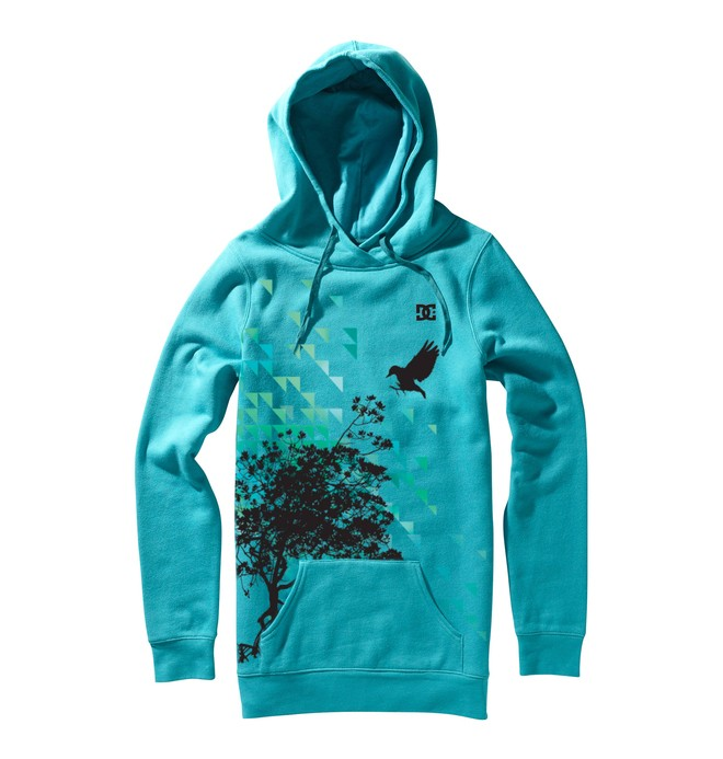 0 Women's Landing Pullover Hoodie  64240011 DC Shoes
