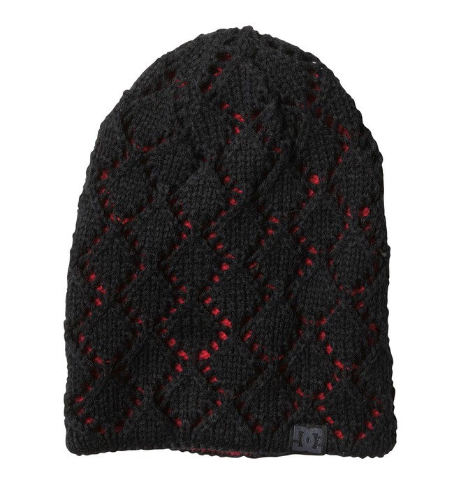 0 Women's Zina Reversible Beanie Black 64310073 DC Shoes