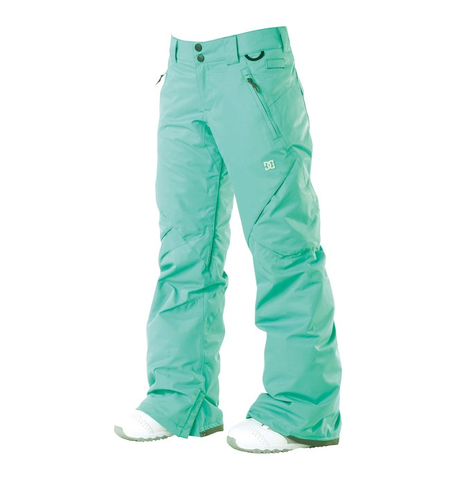 0 Wonen's Ace Snowboard Pants Green 64601200 DC Shoes