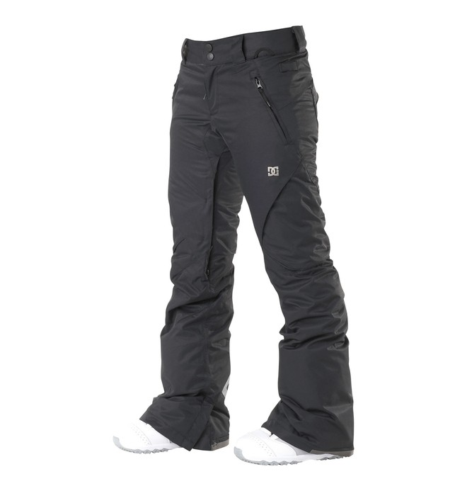 0 Women's Ace Slim Snowboard Pants Black 64601201 DC Shoes