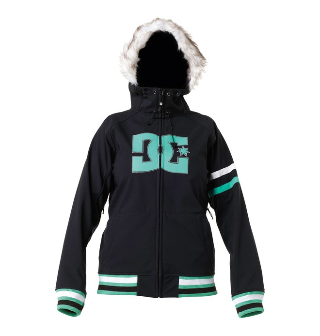 0 Women's Gamut Snowboard Jacket Black 64641119 DC Shoes
