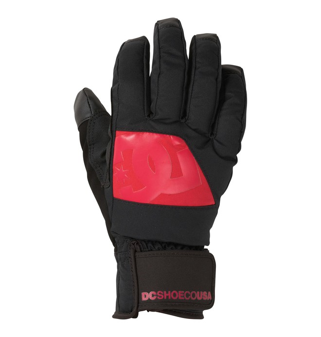 0 Women's Seger Snowboard Gloves Black 64670035 DC Shoes
