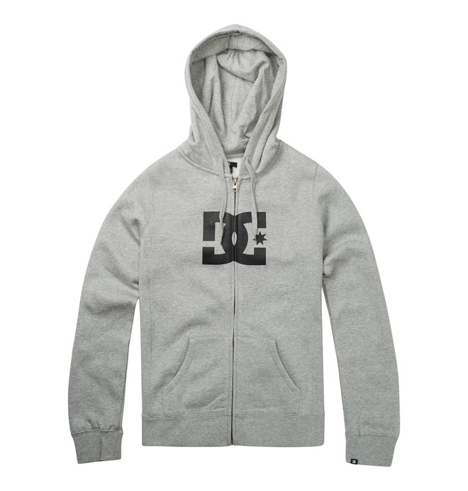 0 Star E ZH Hoodie Grey 65260060 DC Shoes
