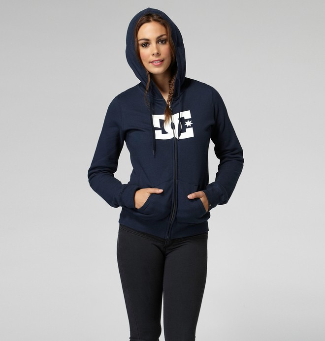 0 Star E ZH Hoodie Blue 65260060 DC Shoes