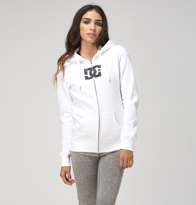 0 Star E ZH Hoodie White 65260060 DC Shoes