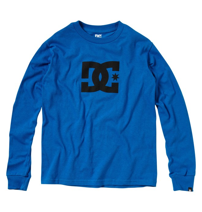 0 Boy's Star Long Sleeve Tee  71210001 DC Shoes