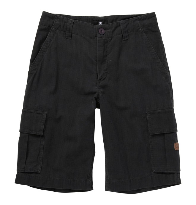 0 Boy's 8-16 Deploy Shorts Black 71810081 DC Shoes
