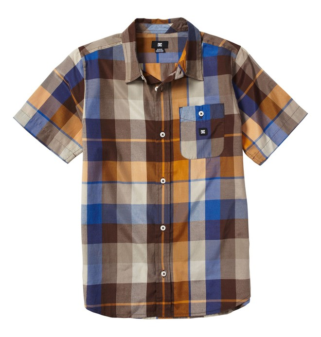 0 Boy's Woodwarth Shirt  71820028 DC Shoes