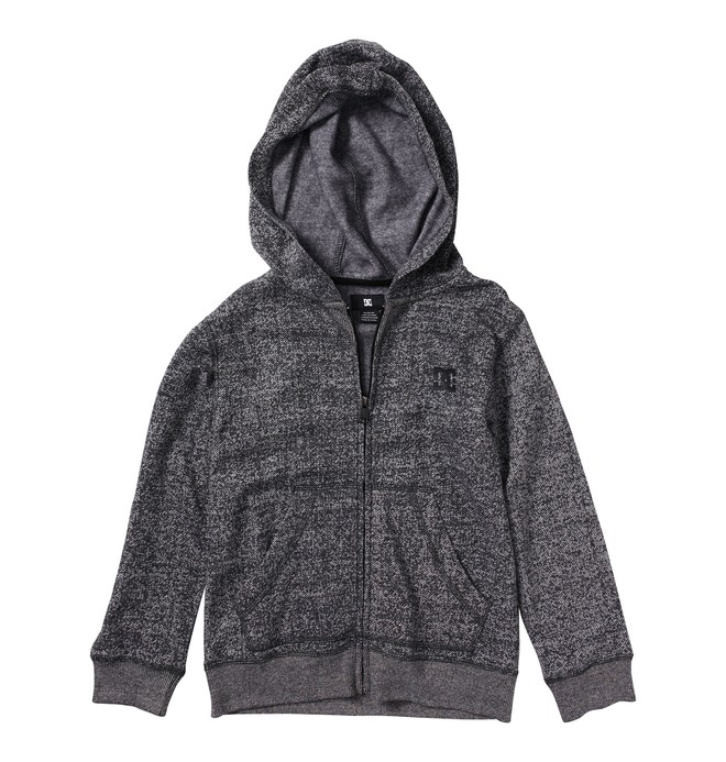 0 Boy's Rebel Zip Hoodie  71860025 DC Shoes