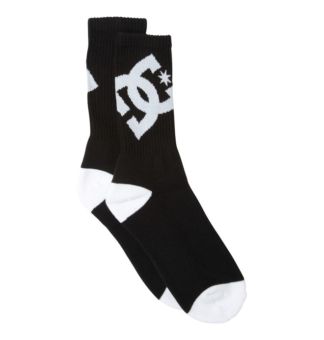 0 Boy's Lifted Socks Black 73340007 DC Shoes