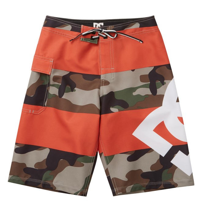 0 Boy's Lanai Essential Boardshorts Brown 73810035 DC Shoes