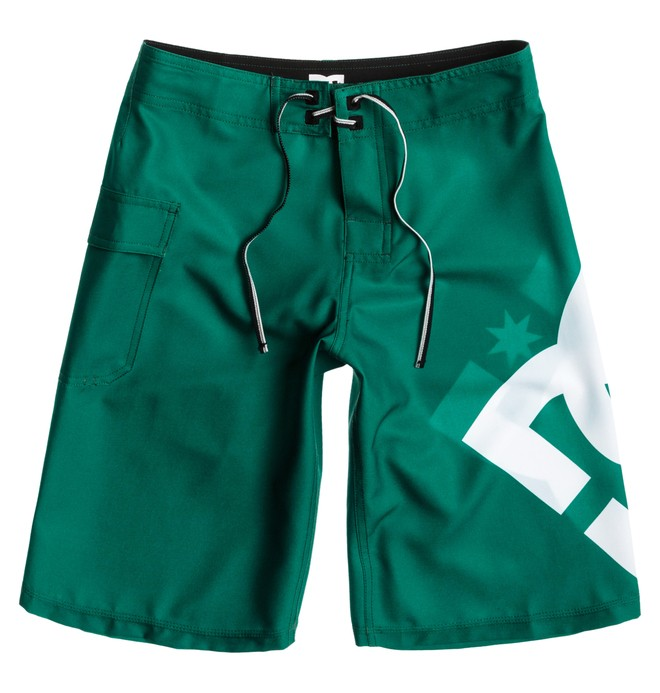 0 Boy's Lanai Essential Boardshorts Green 73810035 DC Shoes