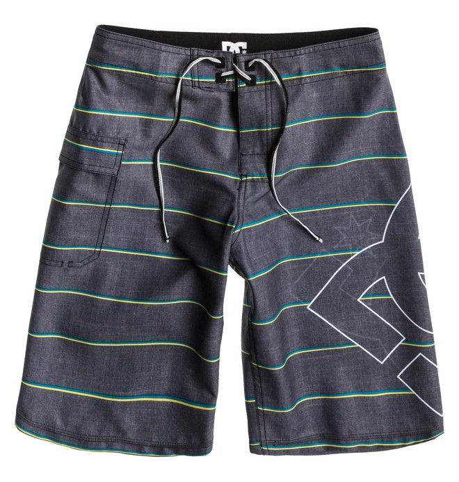 0 Boy's Lanai Essential Boardshorts Black 73810035 DC Shoes