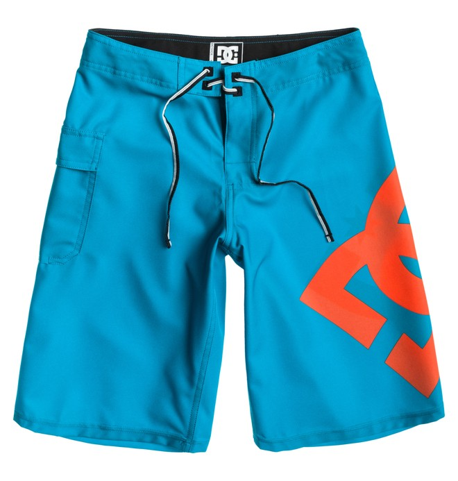 0 Boy's Lanai Essential Boardshorts Blue 73810035 DC Shoes