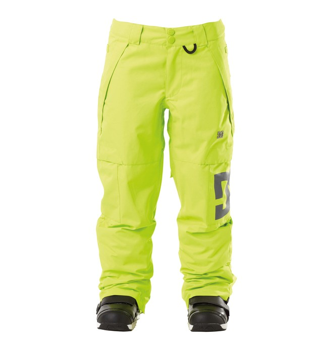 0 Boys Banshee SNowboard Pants Green 74601025 DC Shoes