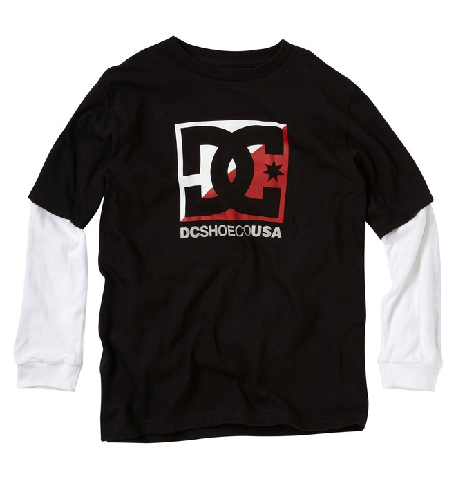 0 Boys Cross Str 2Fer Tee  75210022 DC Shoes