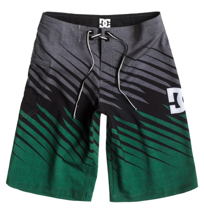 0 Boy's Predator Boardshorts Green ADBBS00038 DC Shoes