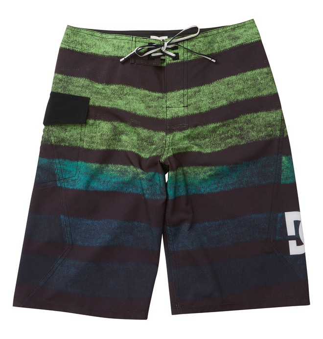 0 Boy's Titaniumby Boardshorts Green ADBBS00047 DC Shoes