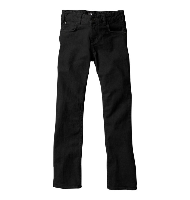 0 Boy's Straight Jeans Black ADBDP00001 DC Shoes