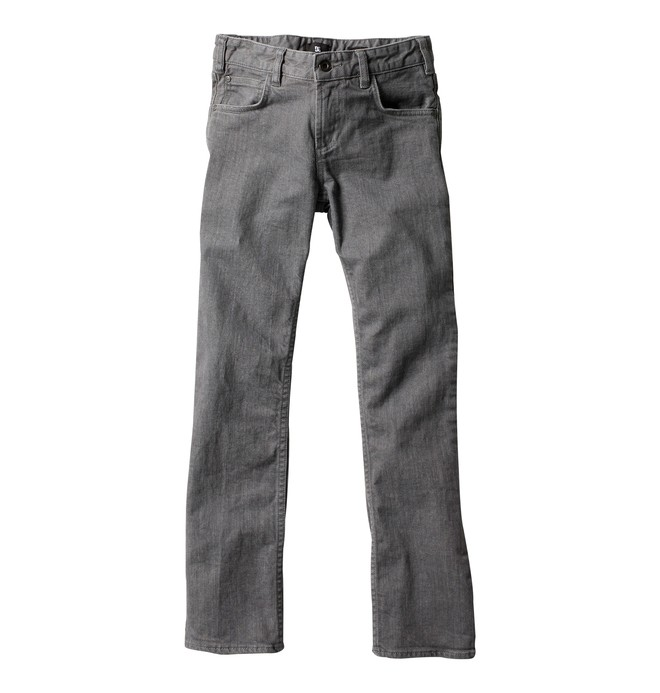 0 Boy's Straight Jeans Grey ADBDP00001 DC Shoes