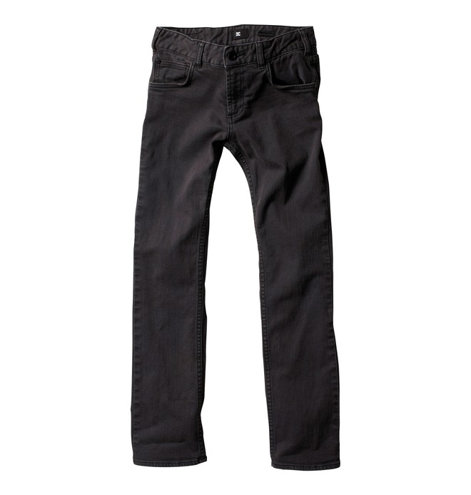 0 Boy's Slim Jeans Black ADBDP00003 DC Shoes