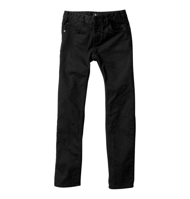 0 Boy's Skinny Jeans Black ADBDP00005 DC Shoes