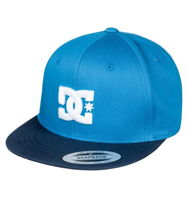 0 Snappy - Snapback Cap Blue ADBHA00008 DC Shoes