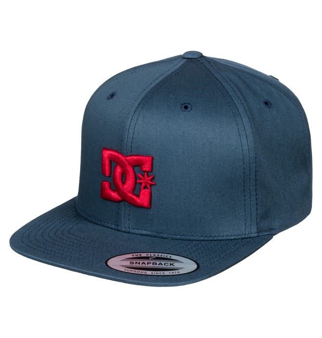 0 Boy's 8-16 Snappy Hat Blue ADBHA00008 DC Shoes