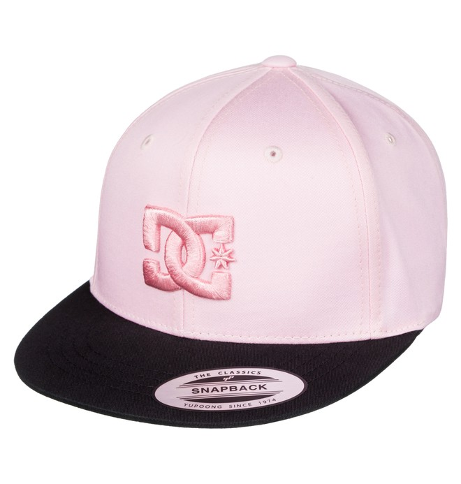 0 Snappy - Snapback Cap Pink ADBHA00008 DC Shoes