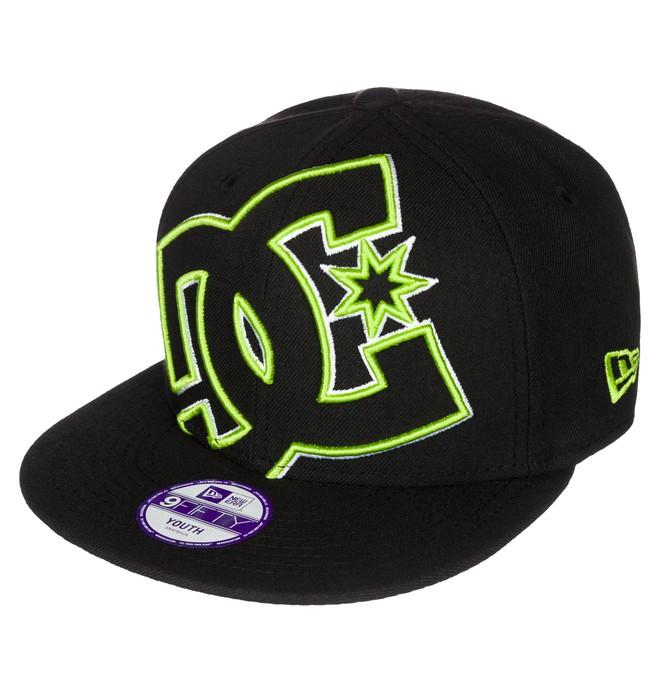 0 Kid's Double Up Snapback Hat  ADBHA03010 DC Shoes