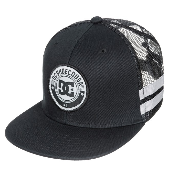 0 Boy's 8-16 Speedster 6-Panel Hat  ADBHA03015 DC Shoes