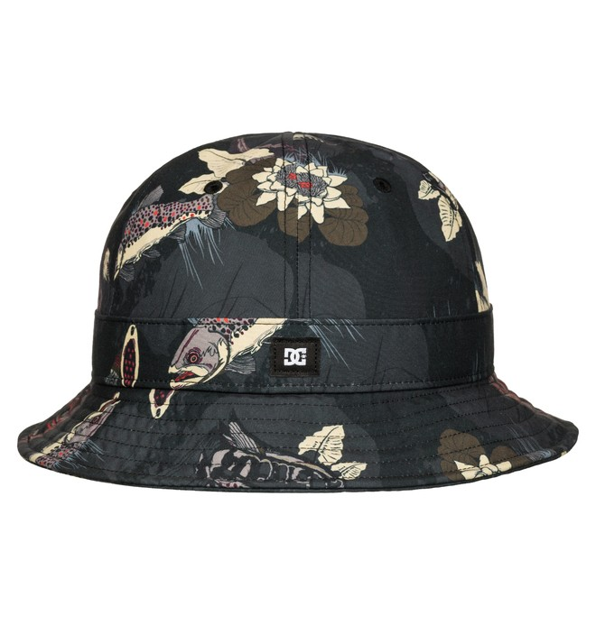 0 Boy's Bass Hatch Bucket Hat  ADBHA03022 DC Shoes