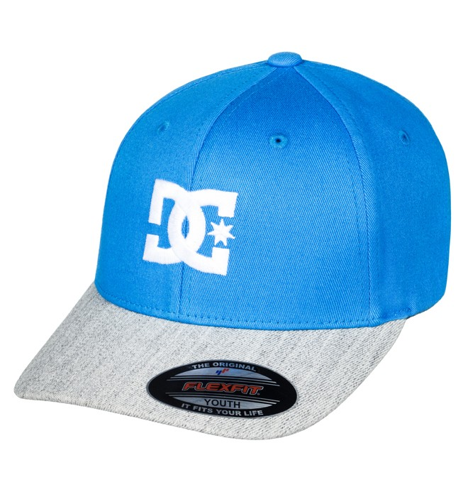 0 Cap Star 2 - Flexfit Cap Blue ADBHA03026 DC Shoes