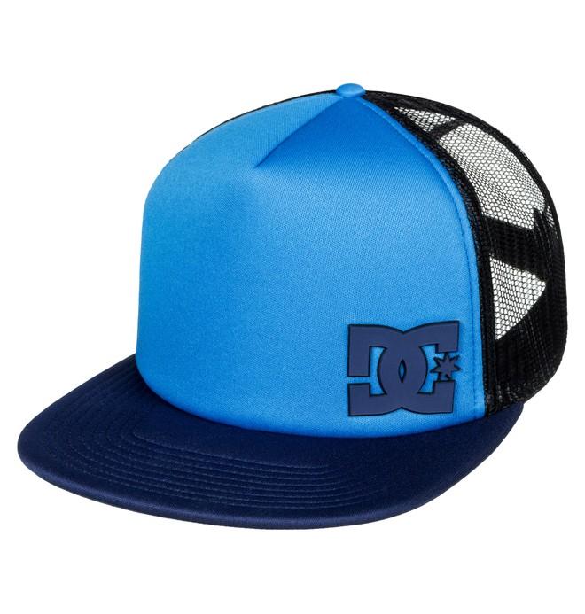 0 Madglads - Trucker Cap Blue ADBHA03048 DC Shoes