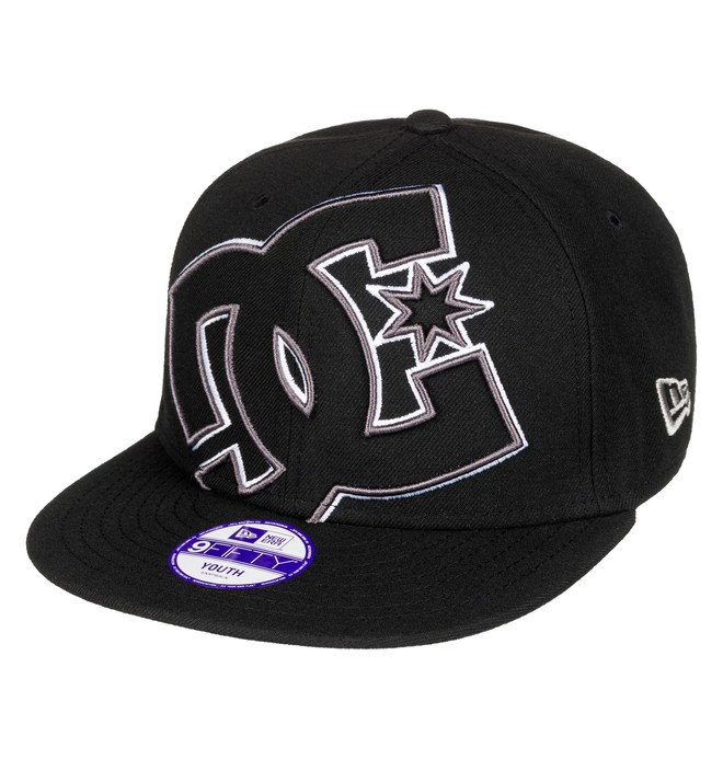 0 Double Up - Casquette snapback Noir ADBHA03050 DC Shoes