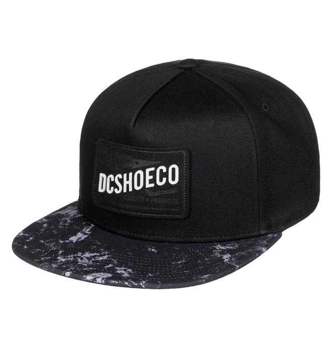 0 Leatherstan - Snapback Cap Black ADBHA03052 DC Shoes