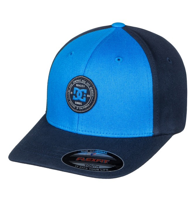 0 Curve Breaker - Flexfit Cap Blue ADBHA03062 DC Shoes