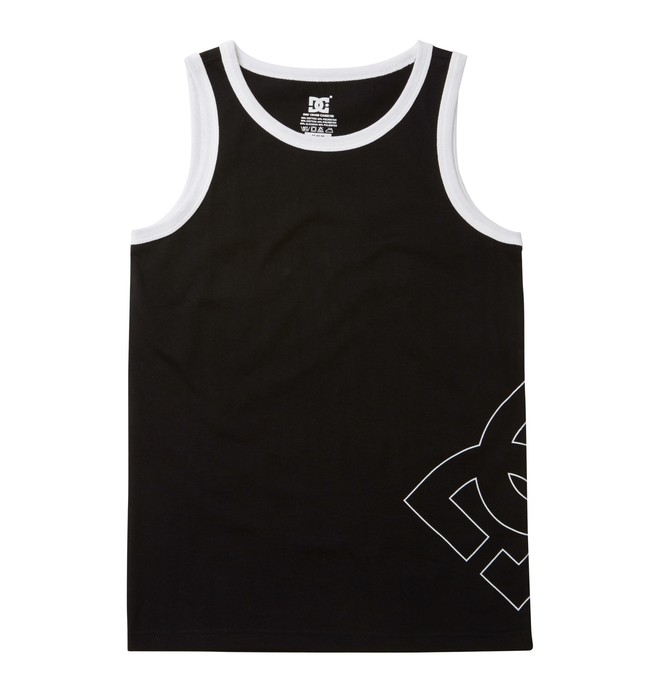 0 Boy's County Tank Black ADBKT00008 DC Shoes