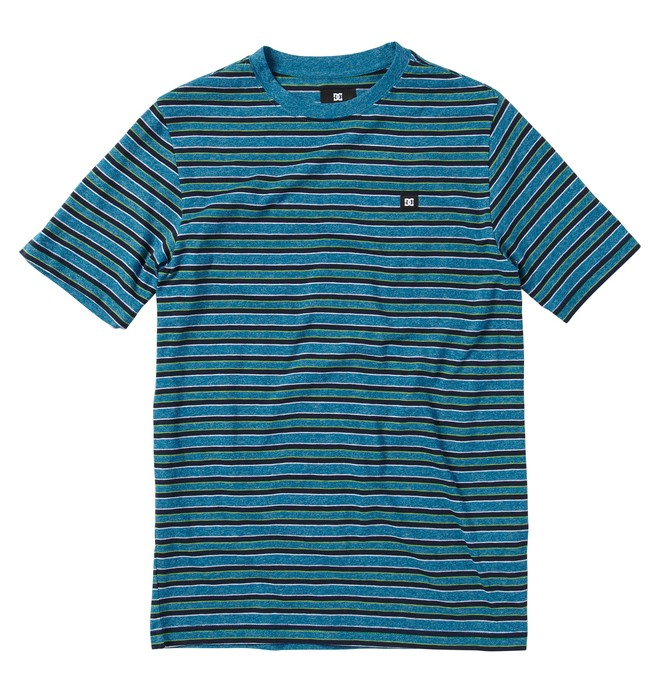 0 Boy's Killjoy Short Sleve Shirt Blue ADBKT00053 DC Shoes