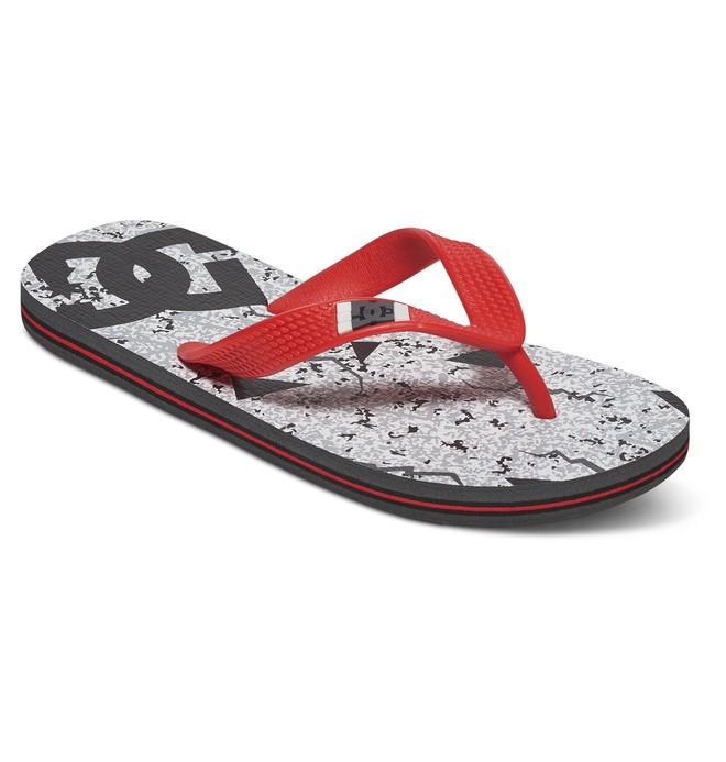 0 Spray Graffik - Flip-Flops Grey ADBL100008 DC Shoes